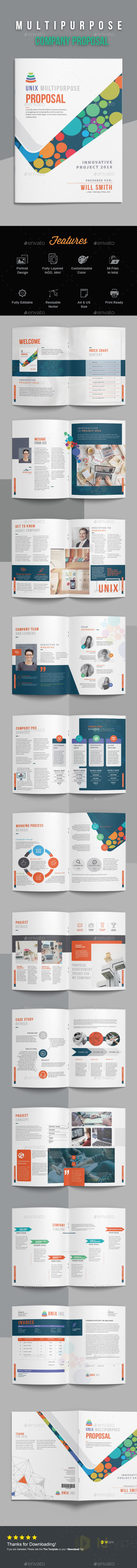 Company Proposal - Proposals & Invoices Stationery