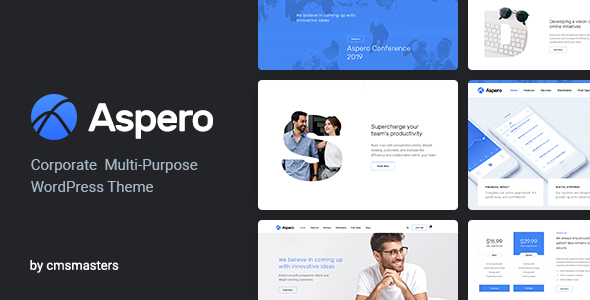 Aspero - Business WordPress Theme - Business Corporate