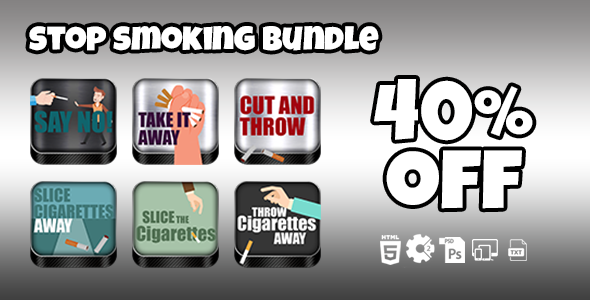 Stop Smoking Games Bundle            Nulled