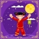 Harvest Moon Mid-Autumn Festival Holiday Asia - GraphicRiver Item for Sale
