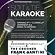 Classy Karaoke Flyer Template - GraphicRiver Item for Sale