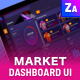 Market Dashboard Sales - GraphicRiver Item for Sale