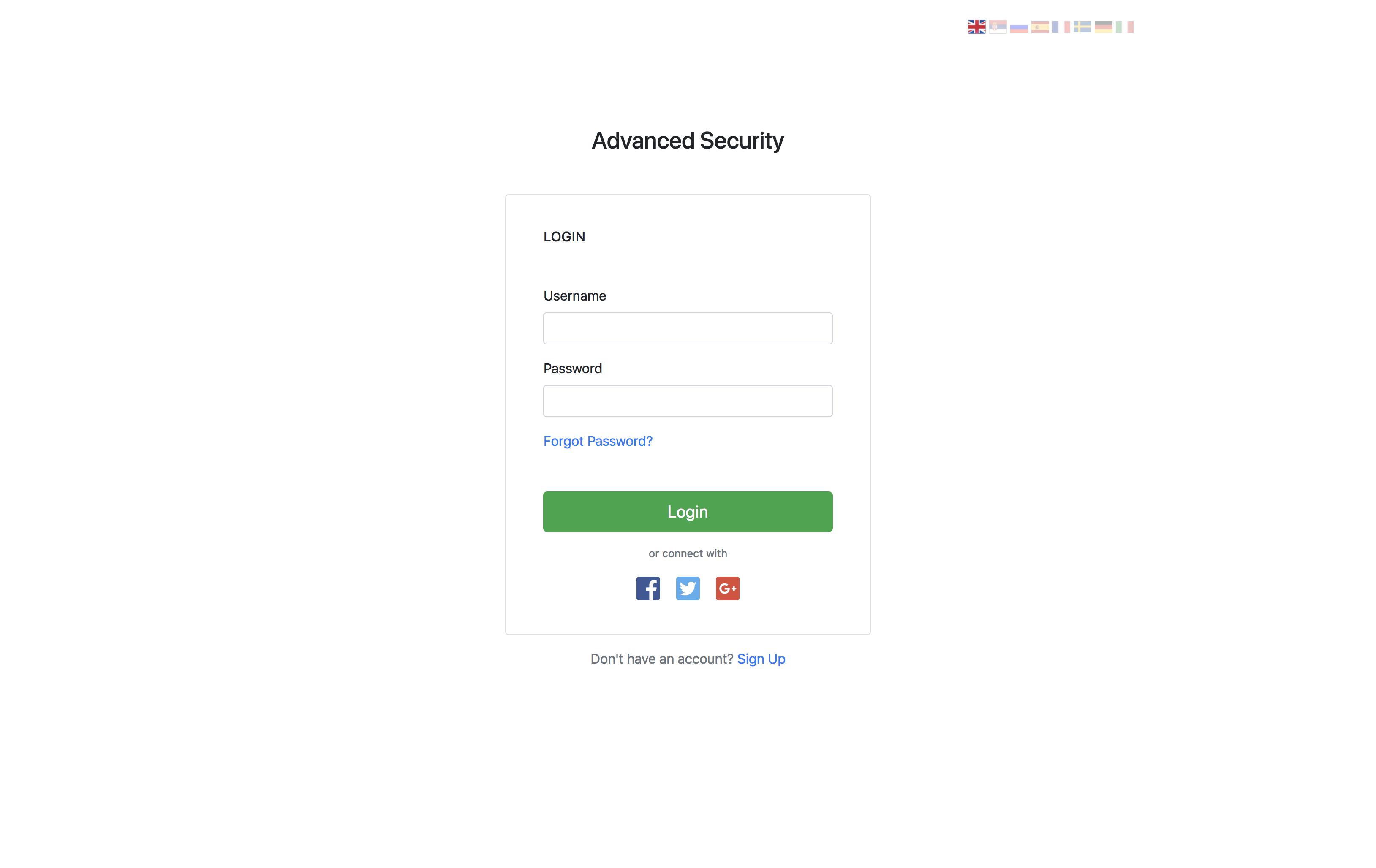 Advanced Security - PHP Register/Login System