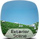 Exterior Render Scene Set 003