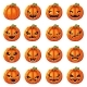 Halloween Pumpkin Decoration with Faces - GraphicRiver Item for Sale