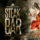 Menu Steak Bar - GraphicRiver Item for Sale