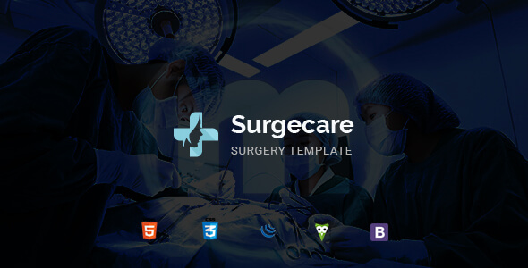 Image of Surgecare - Surgery HTML Template