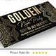 Golden Facebook Cover - GraphicRiver Item for Sale