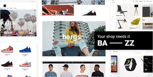 Image of Bazz - A Modern Multi-Concept WooCommerce Theme