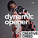Dynamic Opener / Fast Stomp Typography / Fashion Event Promo / Clean Rhythmic Intro - VideoHive Item for Sale