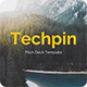 Techpin Pitch Deck Google Slide Template - GraphicRiver Item for Sale