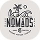 The Nomads Font - Condensed Typeface