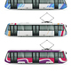 City Tram Cars Collection