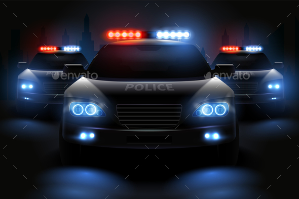 Police light bar composition by macrovector graphicriver police light bar composition miscellaneous vectors mozeypictures Image collections