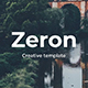 Zeron Creative Google Slide Template - GraphicRiver Item for Sale