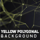 Yellow Polygonal Background - VideoHive Item for Sale