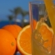 Orange Juice Poured Into a Glass - VideoHive Item for Sale