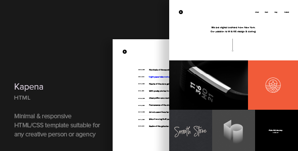 Kapena - Responsive Portfolio HTML Template - Portfolio Creative