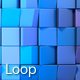 Low Poly Motion Blue 2 - VideoHive Item for Sale