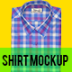 Modified Spread Collar Shirt Mockup - GraphicRiver Item for Sale