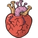 Cartoon Doodle Heart