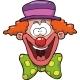 Cartoon Clown Head