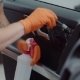 Man Does Dry Cleaning of the Car - VideoHive Item for Sale