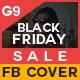 Black Friday Sale Facebook Cover - GraphicRiver Item for Sale