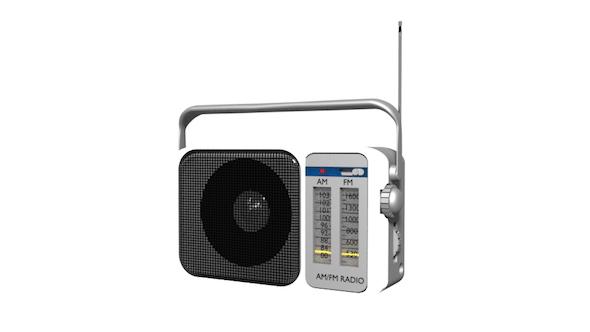 Transistor Radio - 3DOcean Item for Sale
