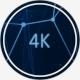 Plexus Background - Circle 4K - VideoHive Item for Sale