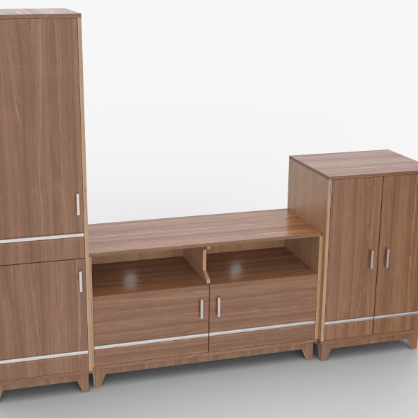 tv stand 52 - 3DOcean Item for Sale