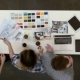 Young Architects Drinking Coffee and Coworking on a Project - VideoHive Item for Sale