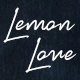 Lemon Love Script Font - GraphicRiver Item for Sale