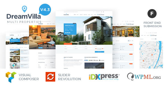 DreamVilla - Real Estate WordPress Theme