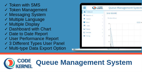 Queue Management System            Nulled