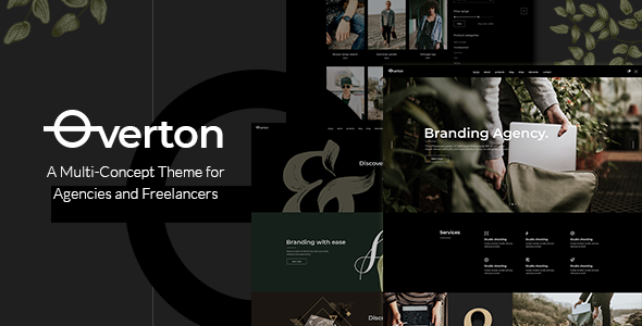 Image of Overton - A Creative Multi-Concept Theme for Agencies and Freelancers