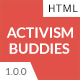 Activism Buddies - Social Campaign & Non Profit HTML5 Template - ThemeForest Item for Sale