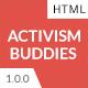 Activism Buddies - Social Campaign & Non Profit HTML5 Template