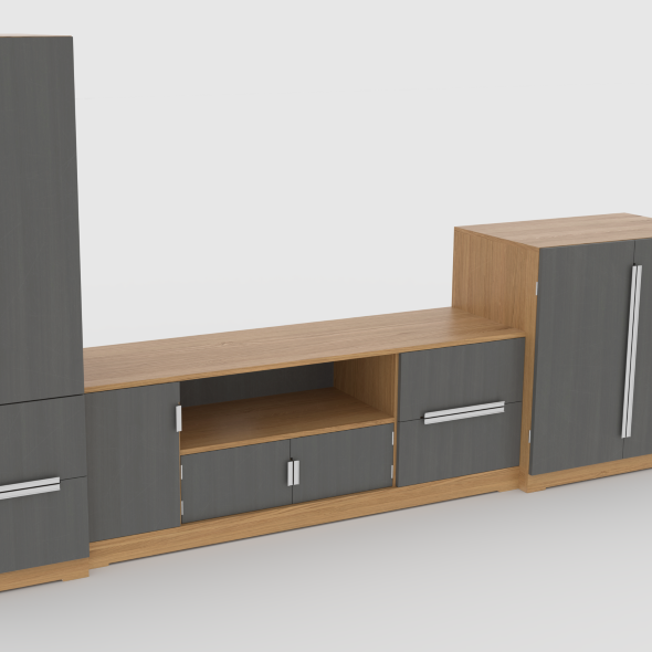 tv stand 58 - 3DOcean Item for Sale