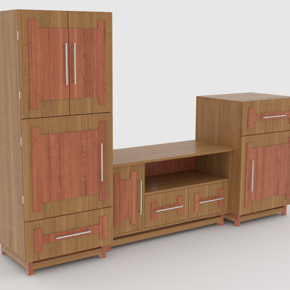 tv stand 60 - 3DOcean Item for Sale