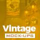 Vintage Streets Mock-Up Templates - GraphicRiver Item for Sale