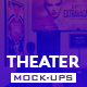 The Theater Mock-Up Template - GraphicRiver Item for Sale
