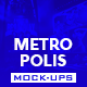 The Metropolis Mock-Up - GraphicRiver Item for Sale