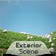 Exterior Render Scene Set 006