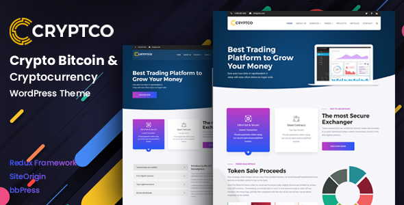Image of Cryptco - Cryptocurrency WordPress Theme