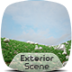 Exterior Render Scene Set 009