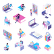 Online Library Isometric Set