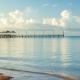 Pier on the Ocean Coast, Early Morning - VideoHive Item for Sale