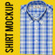 Button-Down Collar Shirt Mockup - GraphicRiver Item for Sale