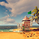 Beach By The Sea - VideoHive Item for Sale